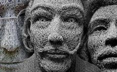 chicken wire sculpture - Google Search
