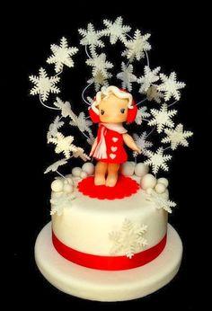 Waiting for Santa Cake Art