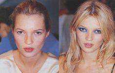 vogue 1996dt feb makeup kate moss