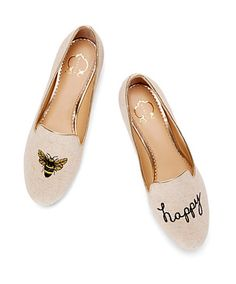 Bee Happy Smoking Slippers