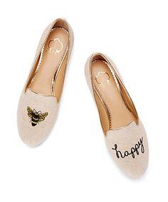 -Bee Happy Flats