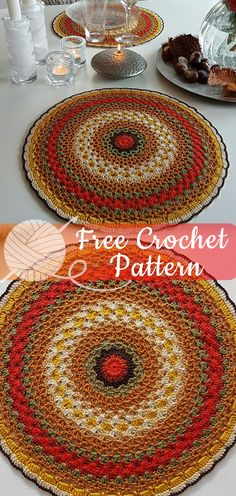 Ideas crochet mandala rug pattern pot holders for 2019 Crochet Sock Pattern Free, Crochet Mandala Pattern, Crochet Patterns Amigurumi, Crochet Doilies, Free Crochet, Free Pattern, Irish Crochet, Crochet Lace, Crochet Granny