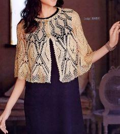 Crochet Cape - Amazing