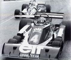 #4 Patrick Depailler | Tyrrell P34, and   #2 Clay Regazzoni | Ferrari 312T