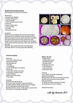Nasik dgg noxxa Rice Recipes, Cooking Recipes, Rice Porridge, Electric Pressure Cooker, Multicooker, Malaysian Food, Indonesian Food, Pressure Cooker Recipes, Allrecipes