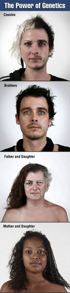 The Power Of Genetics #genetics #how science work #amazing #cool facts  http://www.adorabo.com/view/the-power-of-genetics