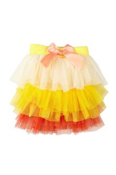 Paulinie Multicolor Tulle Skirt With Bow (Little Girls) by Paulinie on @HauteLook