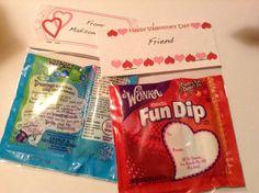 Fun Dip Valentine