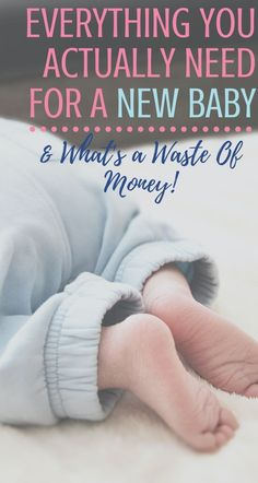 This is your guide to the new baby necessities that you ACTUALLY need! No fluff here - you won't waste any money on these essentials. PLUS, I've included 5 baby products that new moms always waste money on... and regret. #newbabyproducts #newbabychecklist #newbabygifts #newmomtips #newmomgifts #newbornessentials Gifts For New Moms, New Baby Gifts, New Baby Checklist, Healthy Pregnancy Tips, 5 Babies, Newborn Essentials, Baby Necessities, Baby Health, Baby Needs