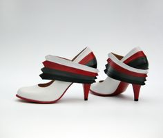 Unique shoes by Marte Rodenburg at Coroflot.com