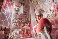 The Bergdorf Holiday Windows Are High Fashion on Ice