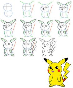 Kids Bedroom Drawing how to draw pikatchu cartoon drawing | easy drawing for kids draw