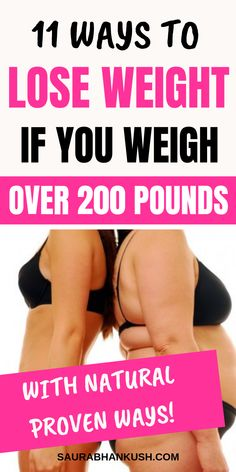 Can I show 11 Ways How to Lose Weight if You Weigh Over 200 lbs. We cover How to lose weight if over 200 pounds or Lose weight if your over 200 pounds. Our tips on Weight Loss tips for women if over 200 pounds works naturally! Weight Loss Meals, Quick Weight Loss Tips, Lose Weight Naturally, Weight Loss For Women, Best Weight Loss, How To Lose Weight Fast, Lose Thigh Fat Fast, Lose Lower Belly Fat, Lose Fat Workout