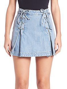 1000+ ideas about Denim Mini Skirt on Pinterest | Denim Skirts ...