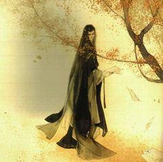 Minh họa truyện Chẩm Thượng Thư - Trầm Diệp - A Lan Nhược