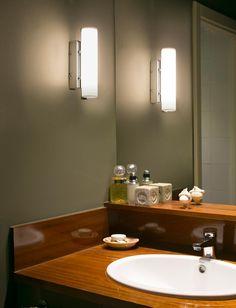 Aplique LED 2 luces SIRET cromo ambiente