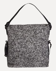Shopper in Boucléoptik Shops, Drawstring Backpack, Bags, Fashion, Women's, Purses, Moda, Tents, Fashion Styles