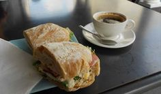 Jason Baker: Visitors are also able to enjoy the delicious breads and pastries on offer - 185 Bree Street Fair Trade Coffee, Best Coffee Shop, Bread And Pastries, The Incredibles, Cape Town, Ethnic Recipes, Breads, Centre, Street