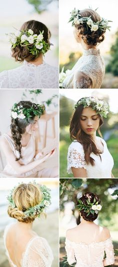 26 Refreshing and Naturally Beautiful Hairstyles for Organic Brides!