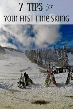 7 Tips for Your First Time Skiing