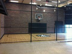 Home Gyms - traditional - home gym - minneapolis - by Sport Court North Home Basketball Court, Sports Court, Home Gym Garage, Indoor Gym, Home Gym Design, Best Home Gym, Villa, Good House, Pilates Studio