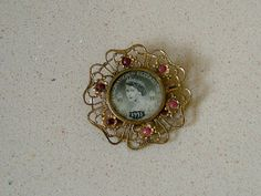 1953 Vintage Filigree Brooch Pin to by QueensParkVintage on Etsy, $45.00