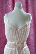 Vintage Mid-Century Vanity Fair Extacee Pale Pink Nightgown