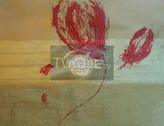 """""""Piccoli Fiori"""" Artista: Laura Facchini Categoria: astratto Tecnica: Mista su carta Dimensioni: cm 40 x 60 #TvArte"""