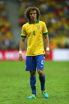 David Luiz. Brazil national team. Confederations cup.