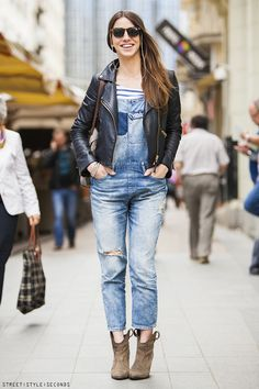 Street style - overalls