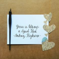 Using a Dip Pen to Create Modern Calligraphy | The Postman's Knock