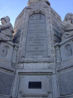 The Forefather's Monument in Plymouth, MA is my favorite and most significant monument in America's Hometown!