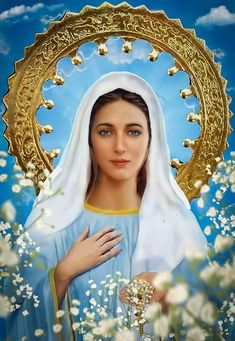 Mary Jesus Mother, Mary And Jesus, Blessed Mother, 257, Mary I, Blessed Virgin Mary, Wallpaper Quotes, Madonna, Catholic