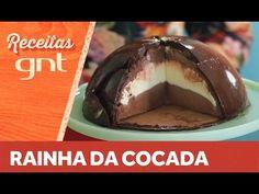 Coisas que Gosto: Receita de domo de chocolate da Raiza Costa