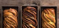 Our take on this traditional twist bread—in chocolate, cinnamon, and pistachio—would make any Jewish grandmother proud. Use this basic babka recipe and add your filling of choice. Bread Recipes, Baking Recipes, Dessert Recipes, Cinnamon Babka, Chocolate Babka, Dessert Chocolate, Bread Rolls, Pavlova, Bread Baking