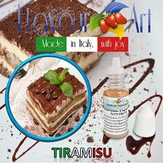 E-Liquide Tiramisu de Flavour Art sur Top Cigarette Electronique