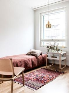 this tiny space packs a lot of color!