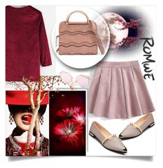 """// ROMWE 2/III //"" by nura-akane ❤ liked on Polyvore featuring modern"
