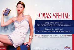 Rush to your nearest Reliance Trends - Official 109ºF outlet now! #Offers #XmasSpecial