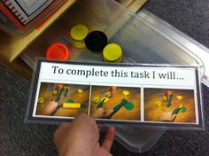 The Autism Adventures of Room 83: Best of 2014- TEACCH Task Boxes