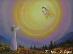 «Union»    painter  Tatiana F. Light «Единение»