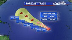 Twitter >>>Fiona over open Atlantic. Fighting dry air - should stay a tropical storm for next 5 days. http://myfoxhurricane.com