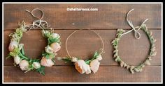 If you want to learn how to make a flower crown then we have 7 Absolutely Beautiful and Adorable DIY Flower Crown Ideas. These ideas are so easy to do that you would be able to make your flower crown in a matter of some minutes. Flower Crown Tutorial, Diy Flower Crown, Diy Crown, Flower Crowns, Flower Girls, Flower Crown Outfit, Baby Crowns, Flower Headbands, Flower Garlands