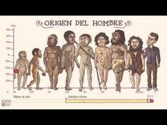 La imprenta de Clío: El origen del hombre en menos de 2 minutos Historia Universal, Public School, Evolution, Homeschool, Science, Memes, Videos, Theory, Play