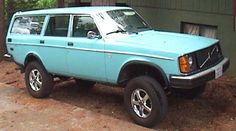 4x4 Volvo 245. This might be over the top, just sayin'.