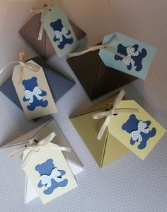 20 Scatoline piramide portaconfetti nascita, battesimo personalizzabile / custom favor boxes/ Boite a dragee / cajas Baptismo di PickaPack su Etsy