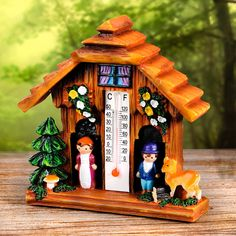 Kouzelný domek s teploměrem Decoration, Bird, Outdoor Decor, House, Home Decor, Google, Decor, Decoration Home, Home
