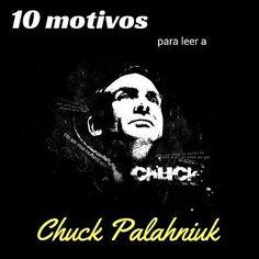 10 motivos para leer a Chuck Palahniuk