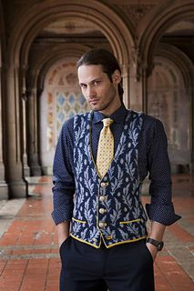 Fitted Waistcoat by Franklin Habit Vogue Knitting
