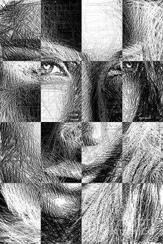 Millennial Square Series 1255 Digital Art by Rafael Salazar